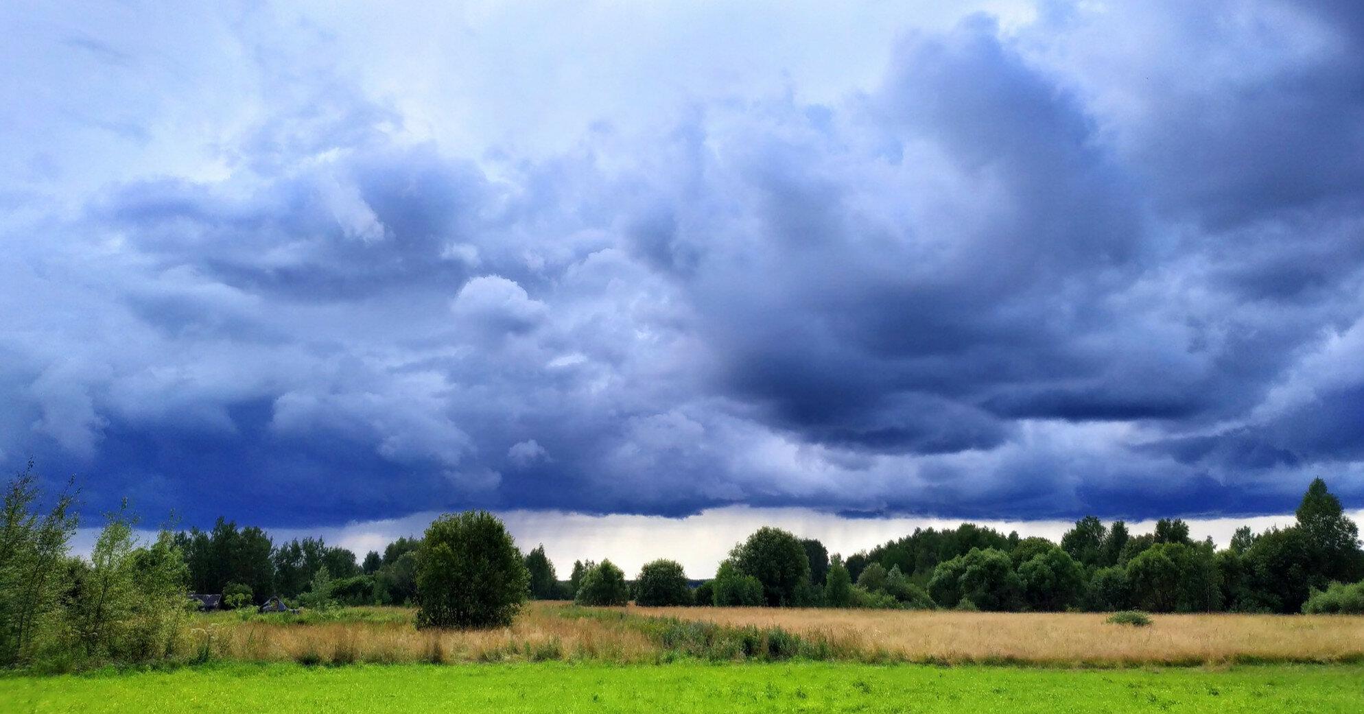 Погода на 10-11 июля: жара в субботу, гроза в воскресенье