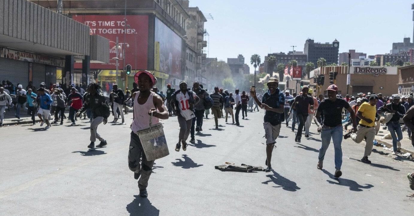 Погромы в ЮАР: количество погибших возросло до 117