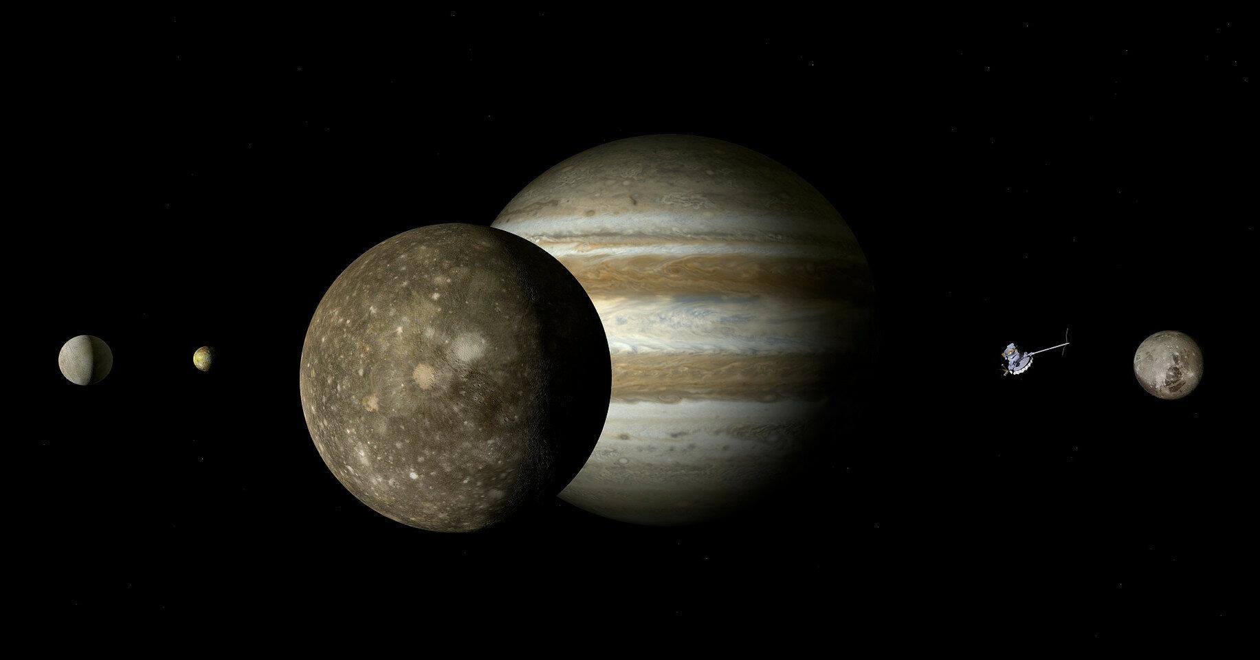 У Юпитера нашли новый спутник