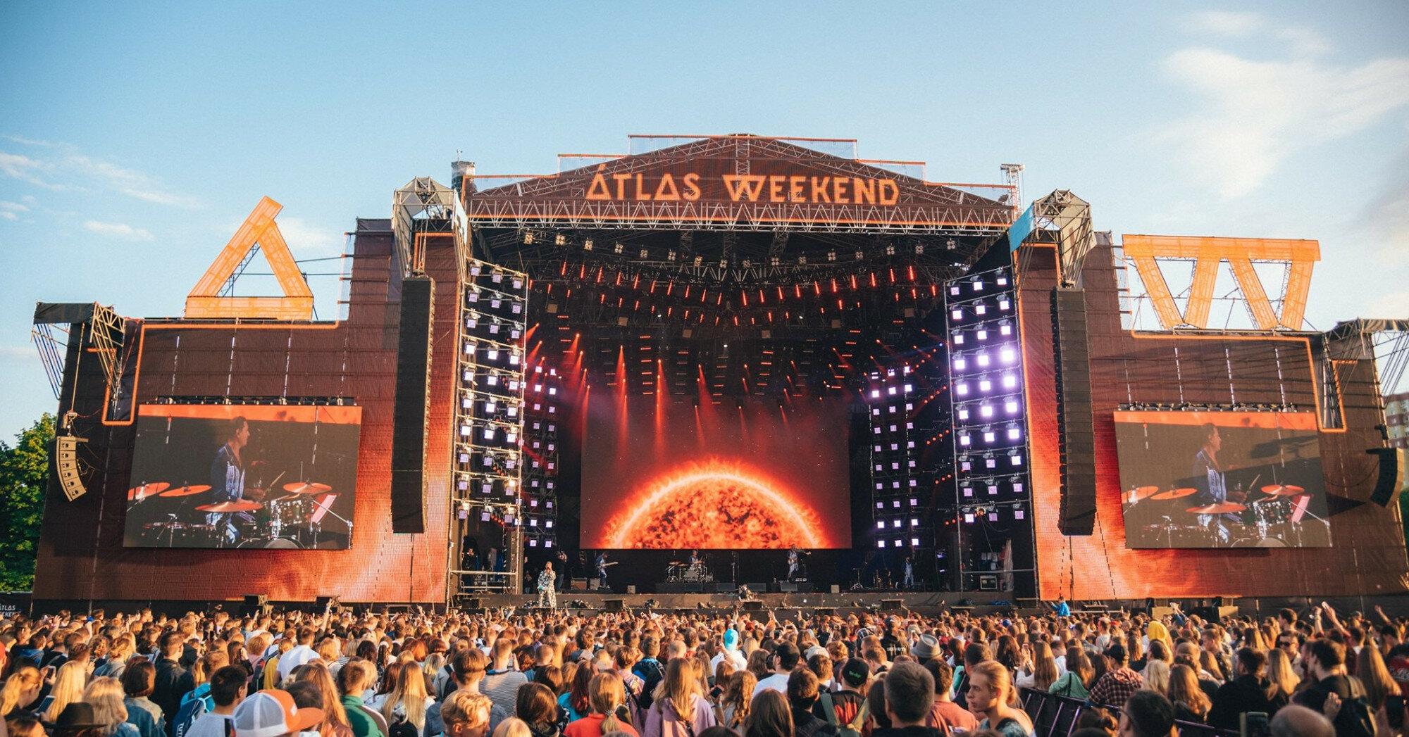 На фестивале Atlas Weekend в Киеве будут вакцинировать желающих