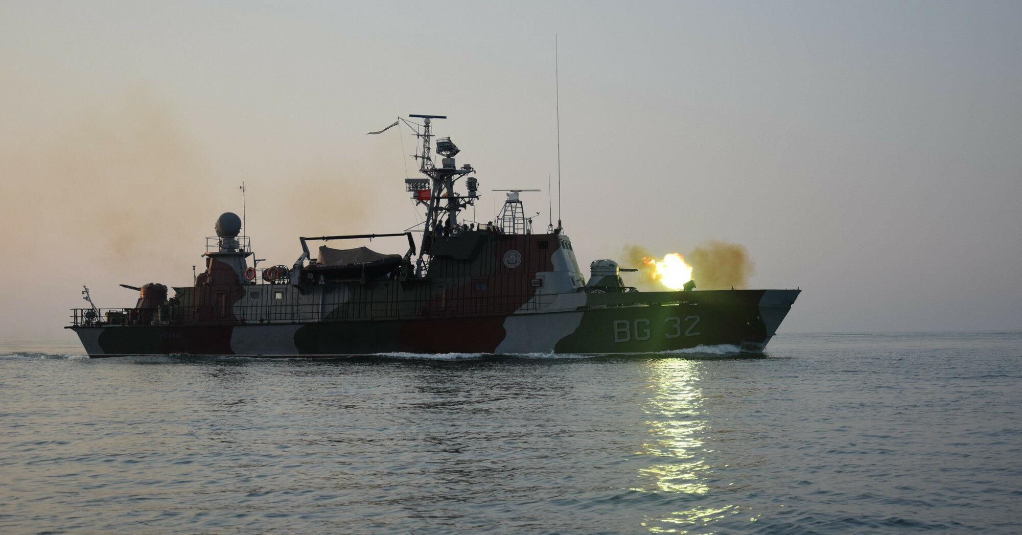 ФСБ следила за учениями украинских военных в Азовском море