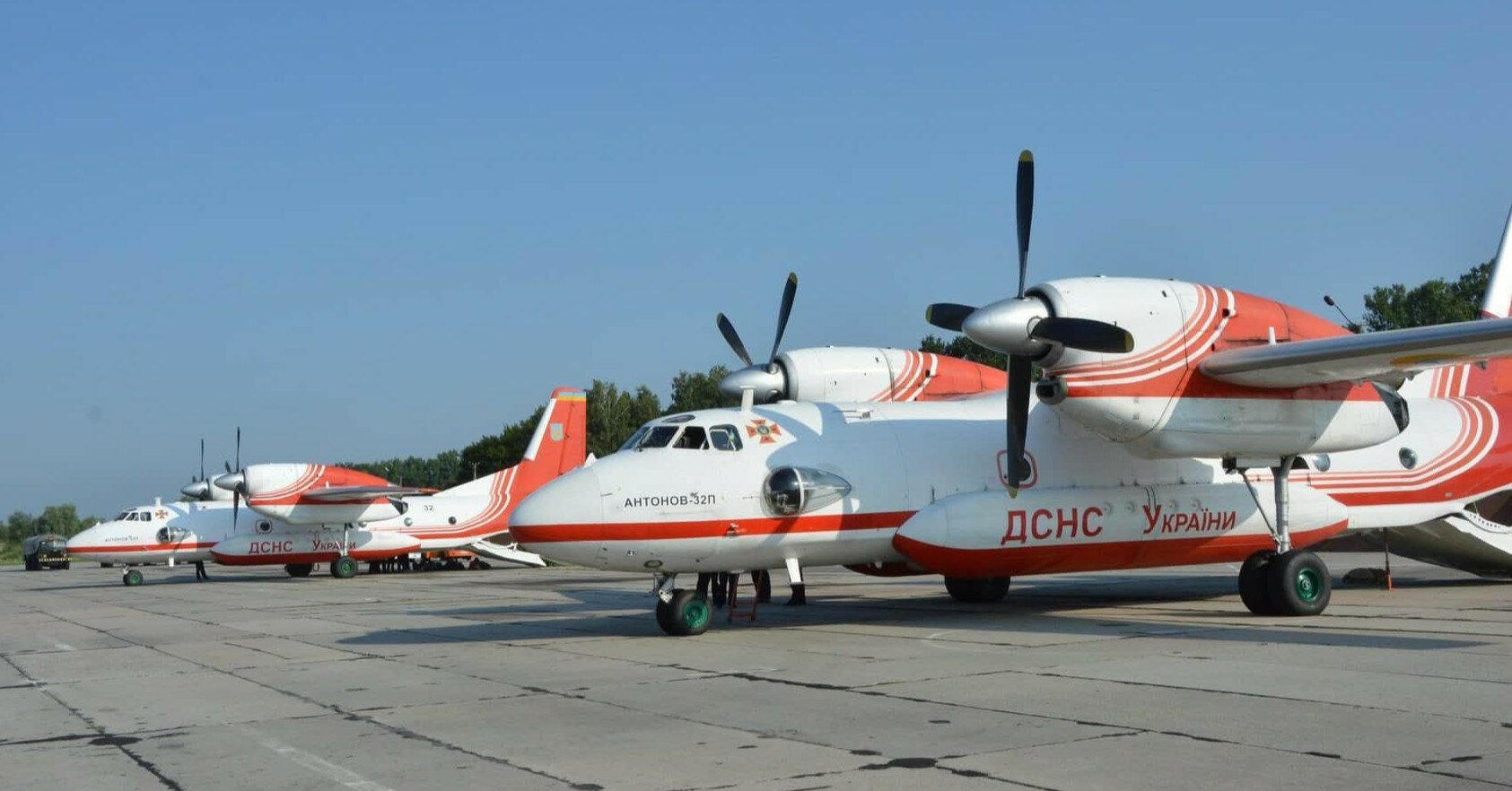Украинские самолеты отправились в Турцию для тушения лесных пожаров