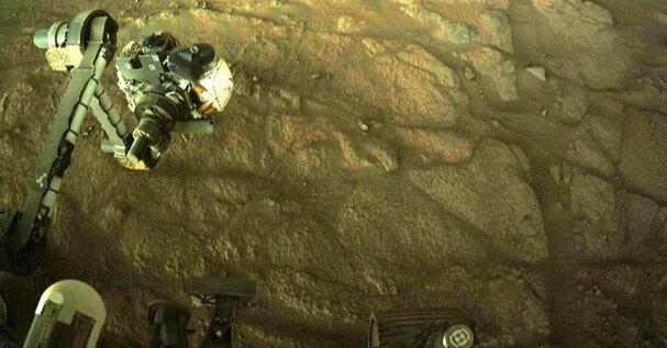 Perseverance занялся поисками жизни на Марсе