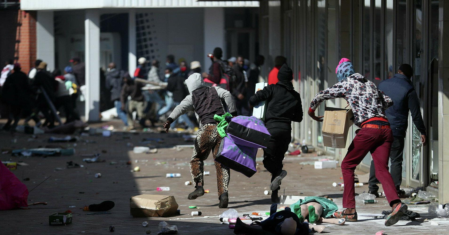 Число жертв протестов в ЮАР превысило 200