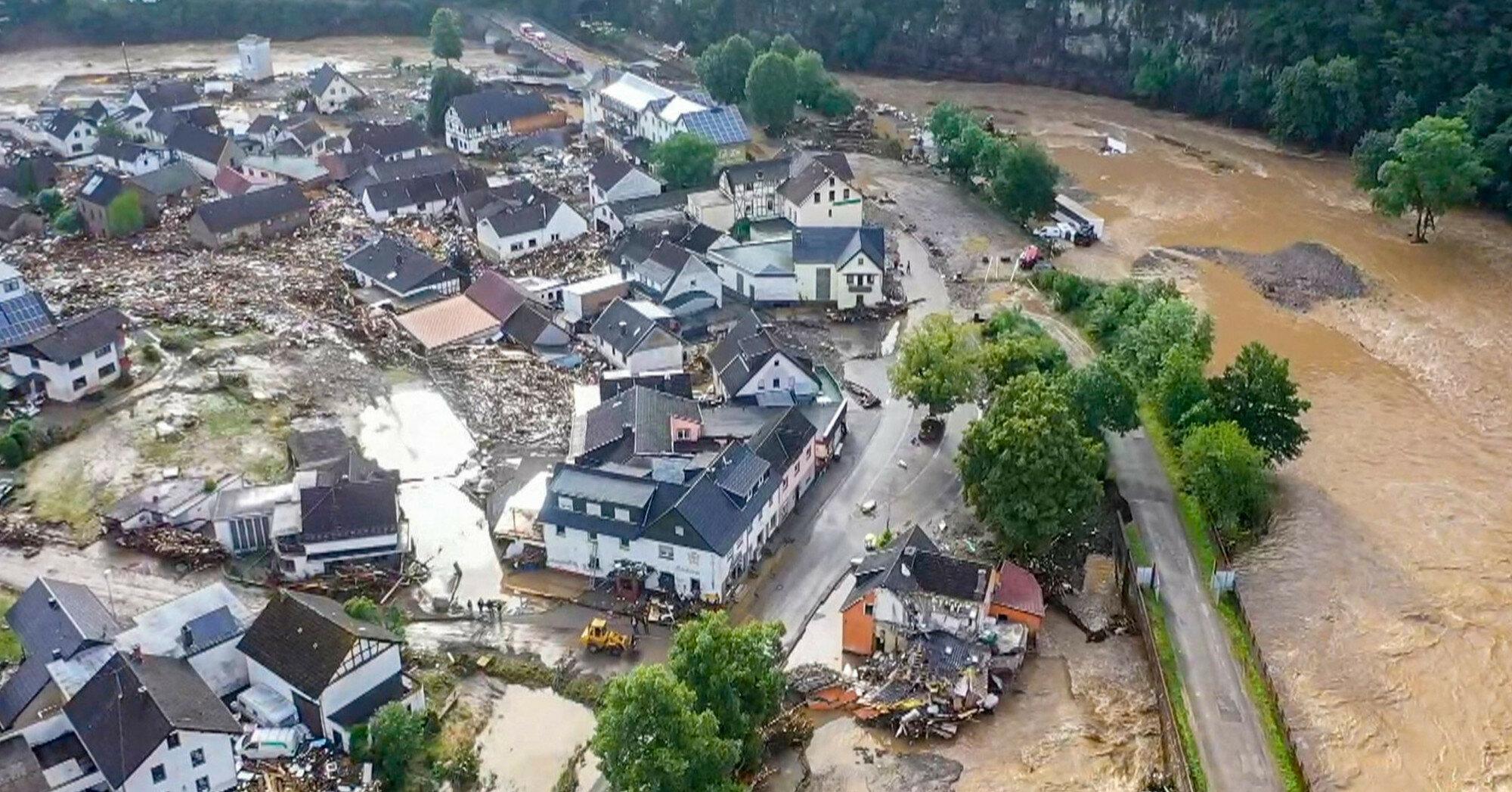 Наводнения в Германии: число жертв возросло до 169 человек
