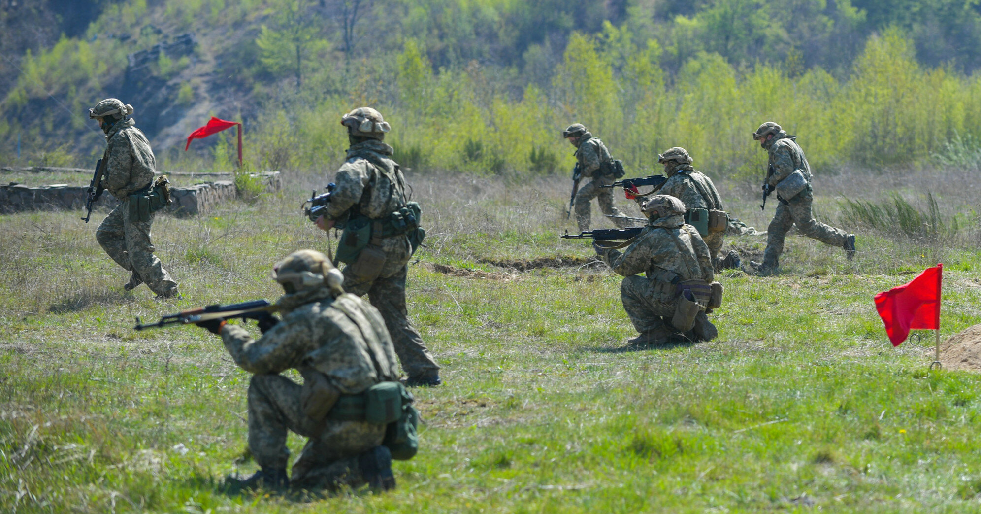 В Украине начались международные военные учения