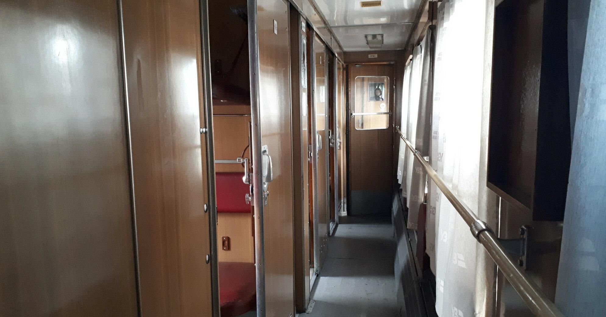 Украинцы стали чаще ездить на поездах