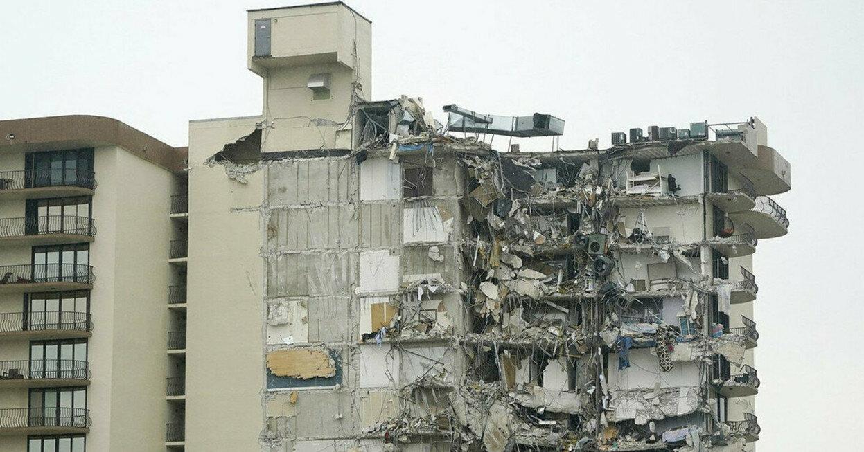 Число жертв обрушения дома в Майами возросло до 32