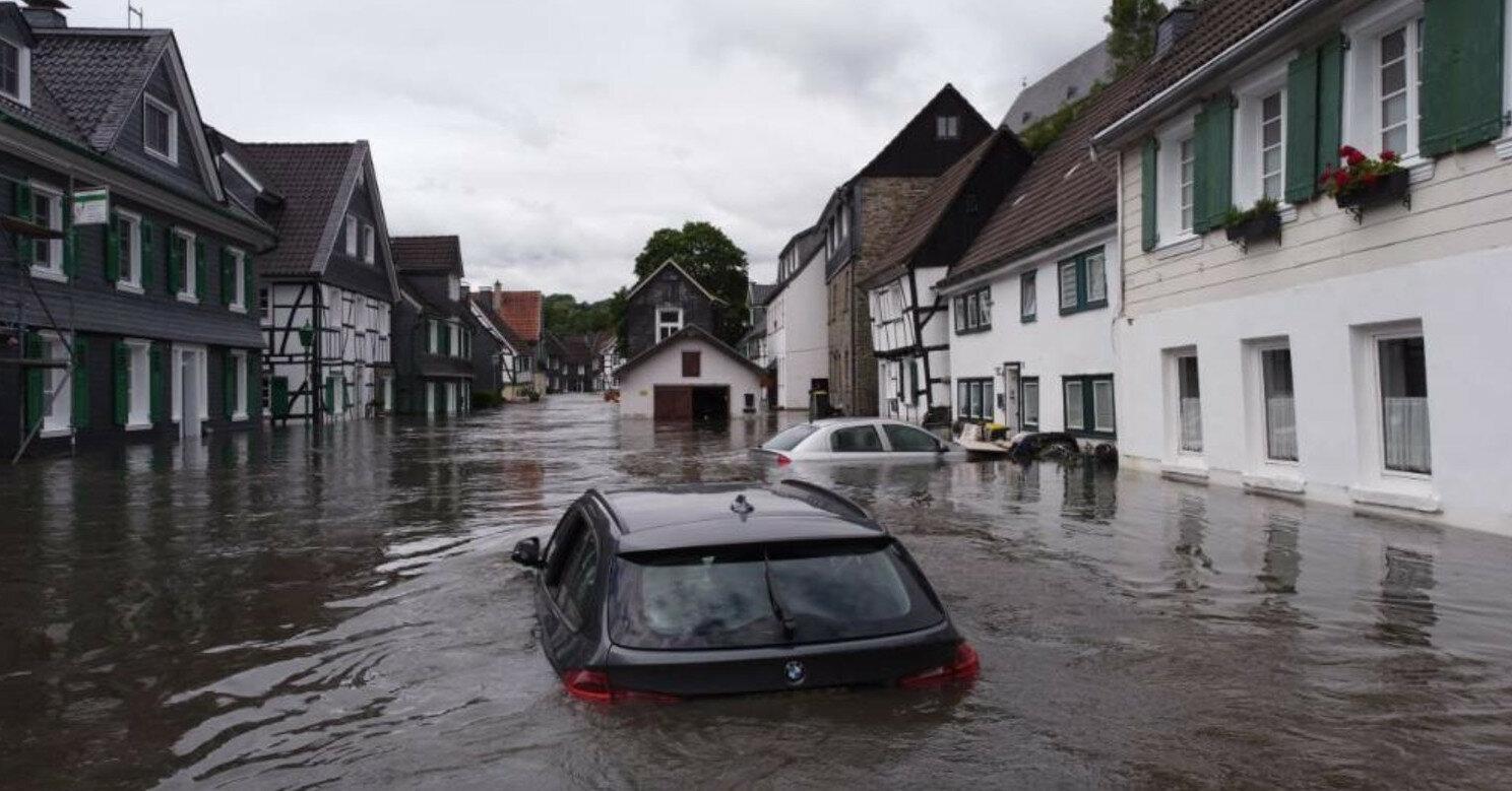 В Германии уже более 130 погибших из-за дождей и наводнений