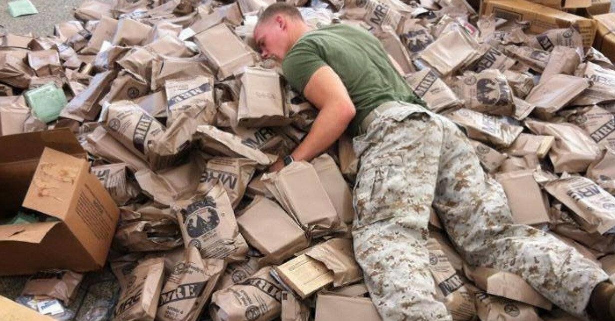 Литовские военнослужащие украли 14  американских сухпайков