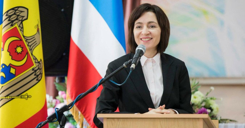 Санду включила Украину в приоритеты внешней политики Молдовы