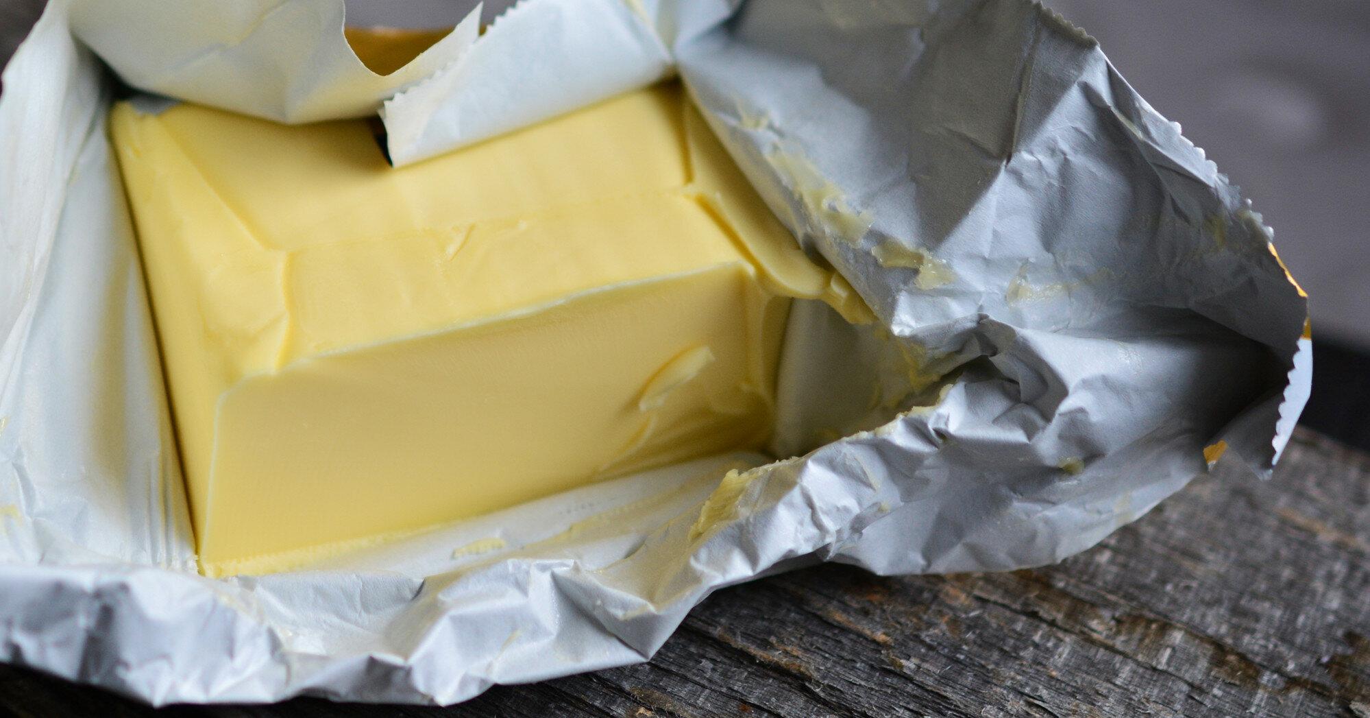 Импорт сливочного масла в Украину вырастет