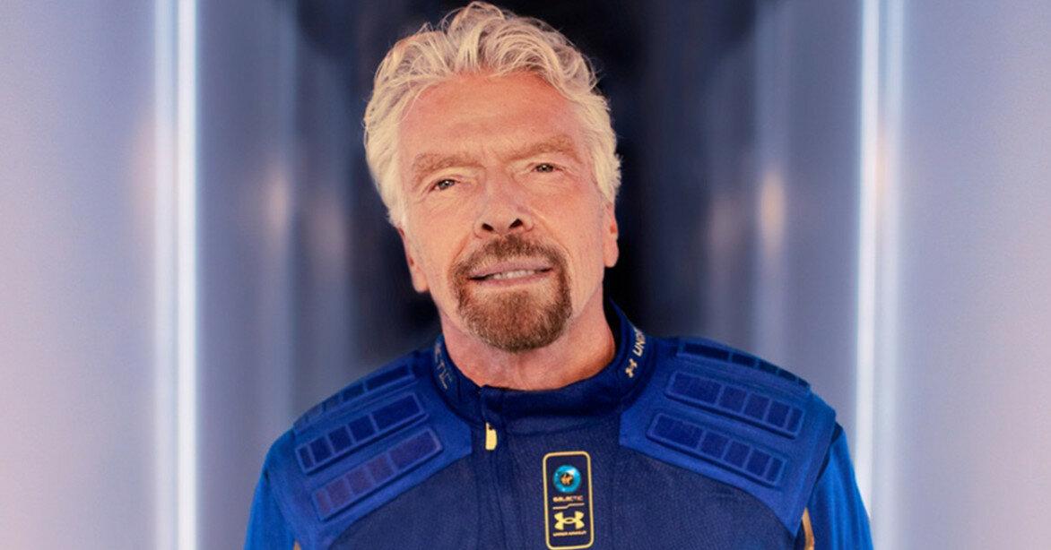 Брэнсон потерял часть состояния после полета в космос Безоса