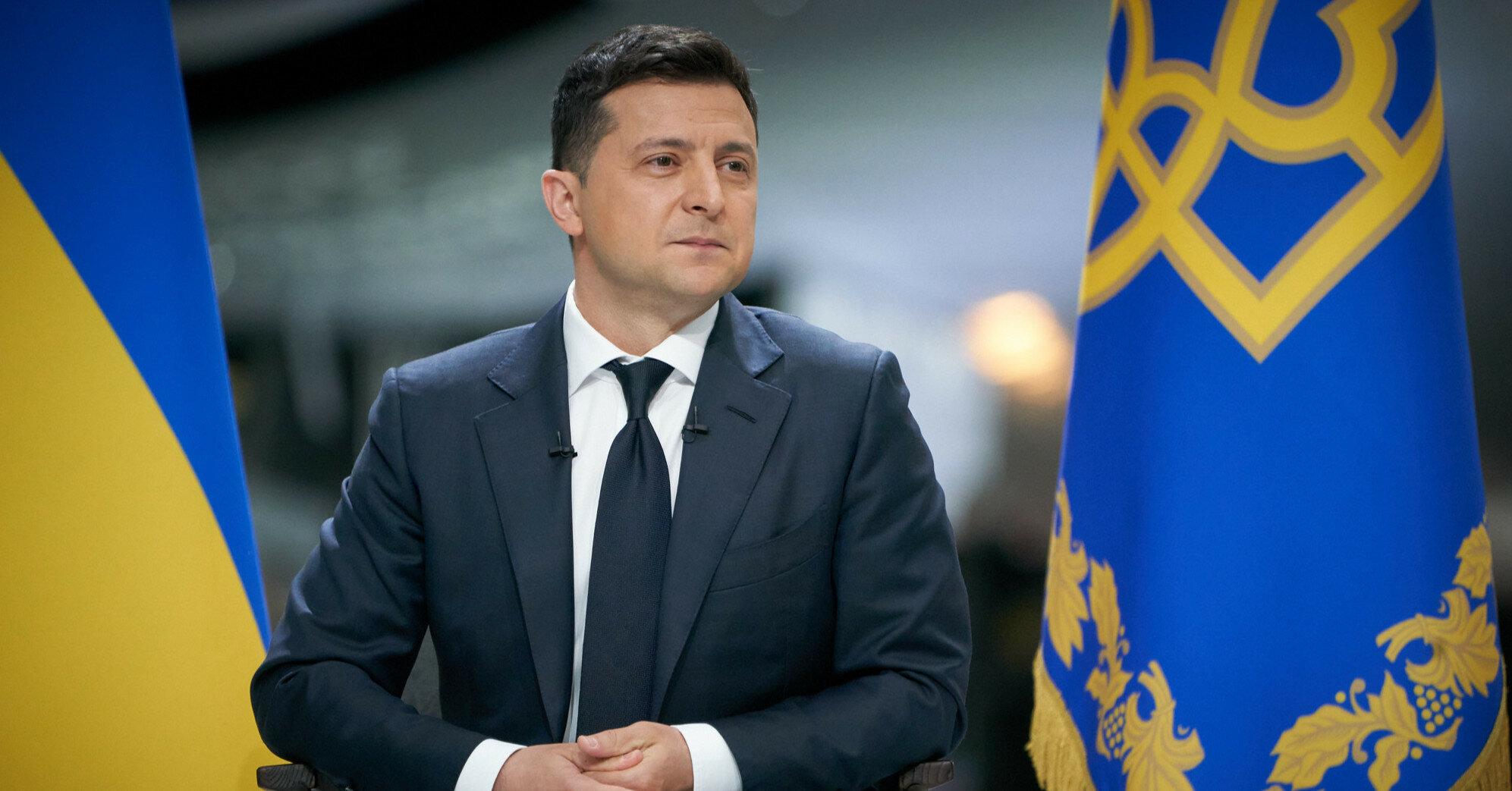 Зеленский надеется, что США окажут помощь по вопросу Донбасса