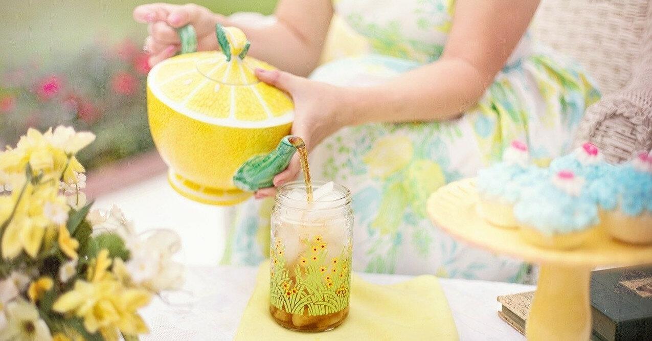 Рецепт холодного зеленого чая от Тани Литвиновой