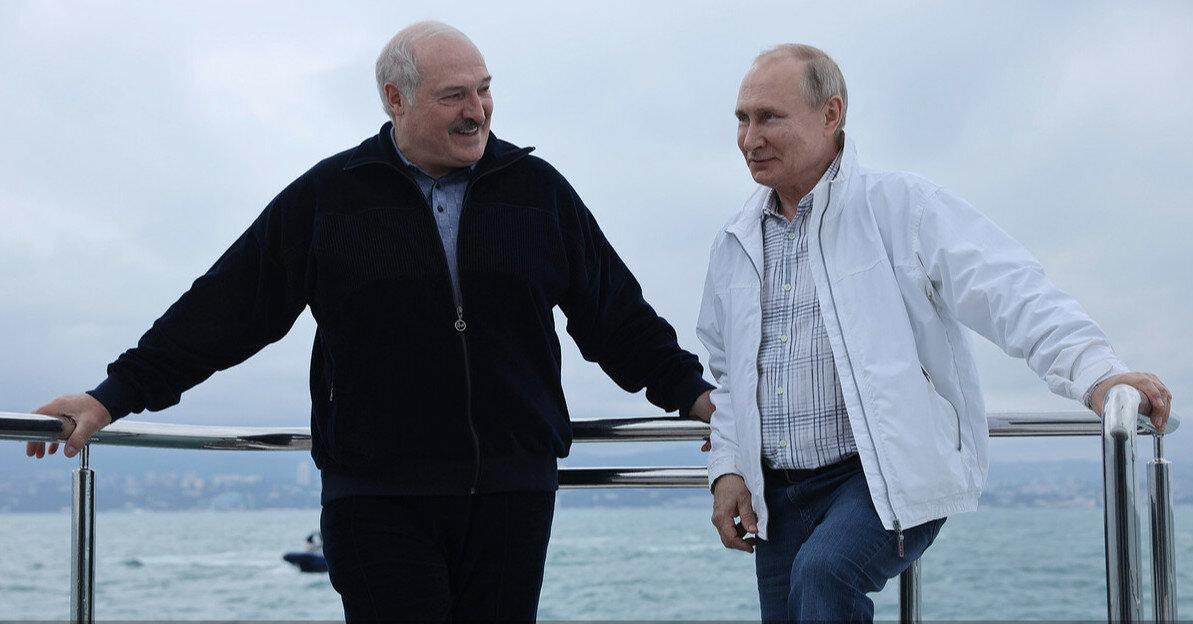 Путин пообещал Лукашенко поддержку после санкций ЕС