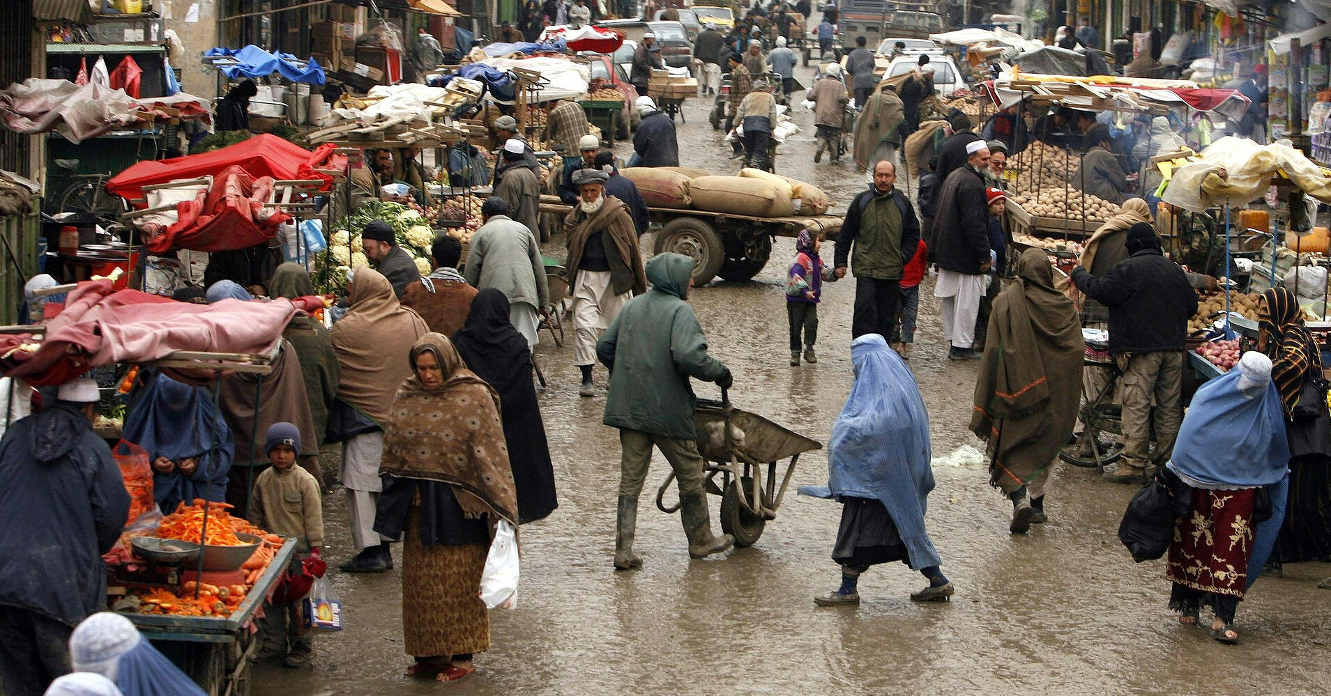 США начнут эвакуацию афганцев, помогавших американским военным