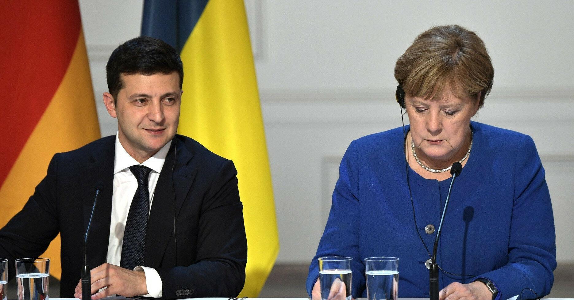 Зустріч Зеленського і Меркель: в Німеччині озвучили теми переговорів