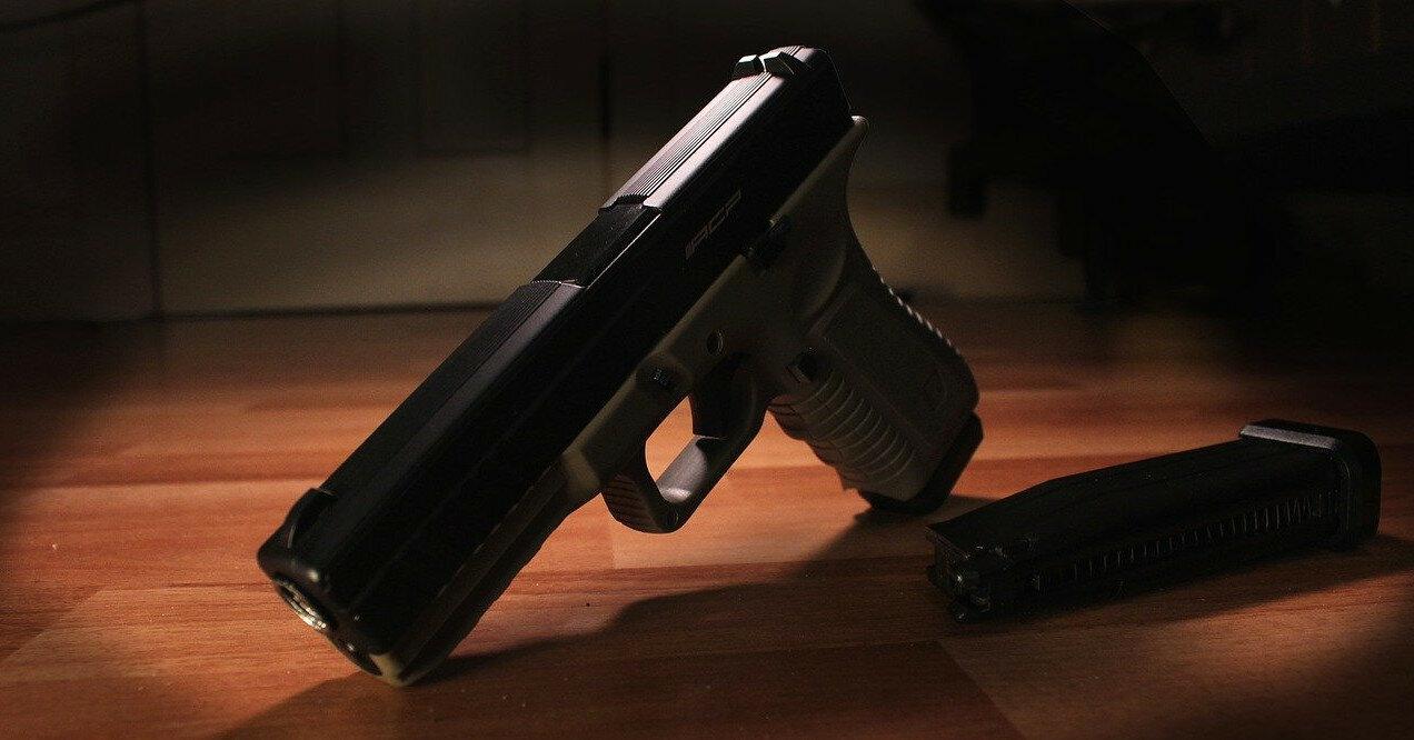 В России трехлетний ребенок выстрелил себе в лицо