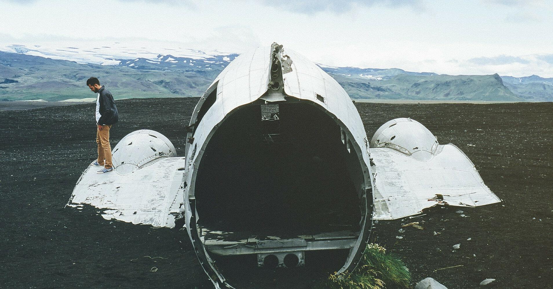 В Швеции разбился самолет с девятью пассажирами