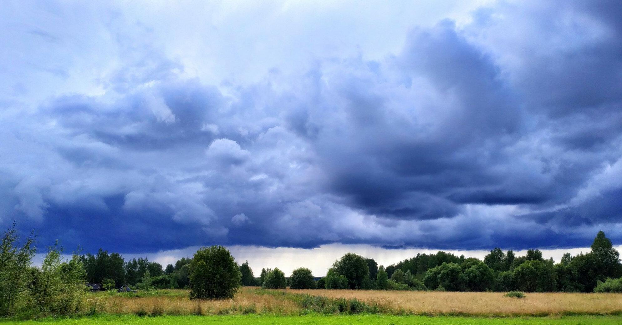 Дождь и шквалы: 21 июля по всей Украине прогнозируют осадки