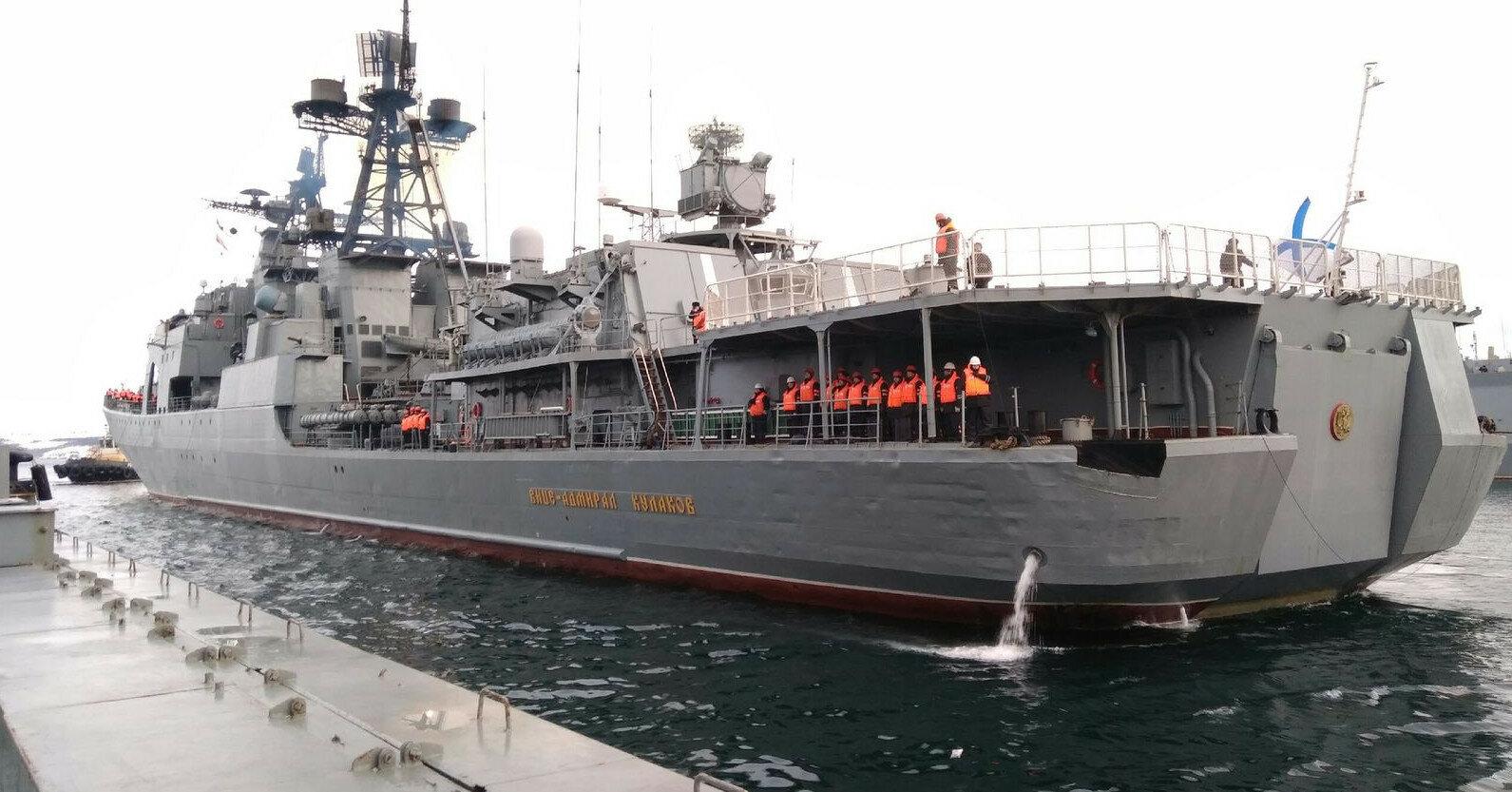 Испания не пустила в свой порт российские военные корабли