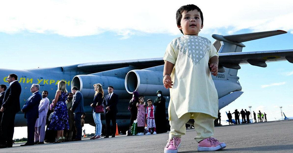 Украина на 8 месте по количеству эвакуированных из Афганистана