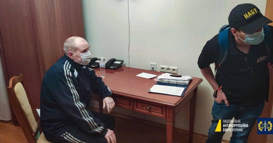 НАБУ заявило о задержании Чауса