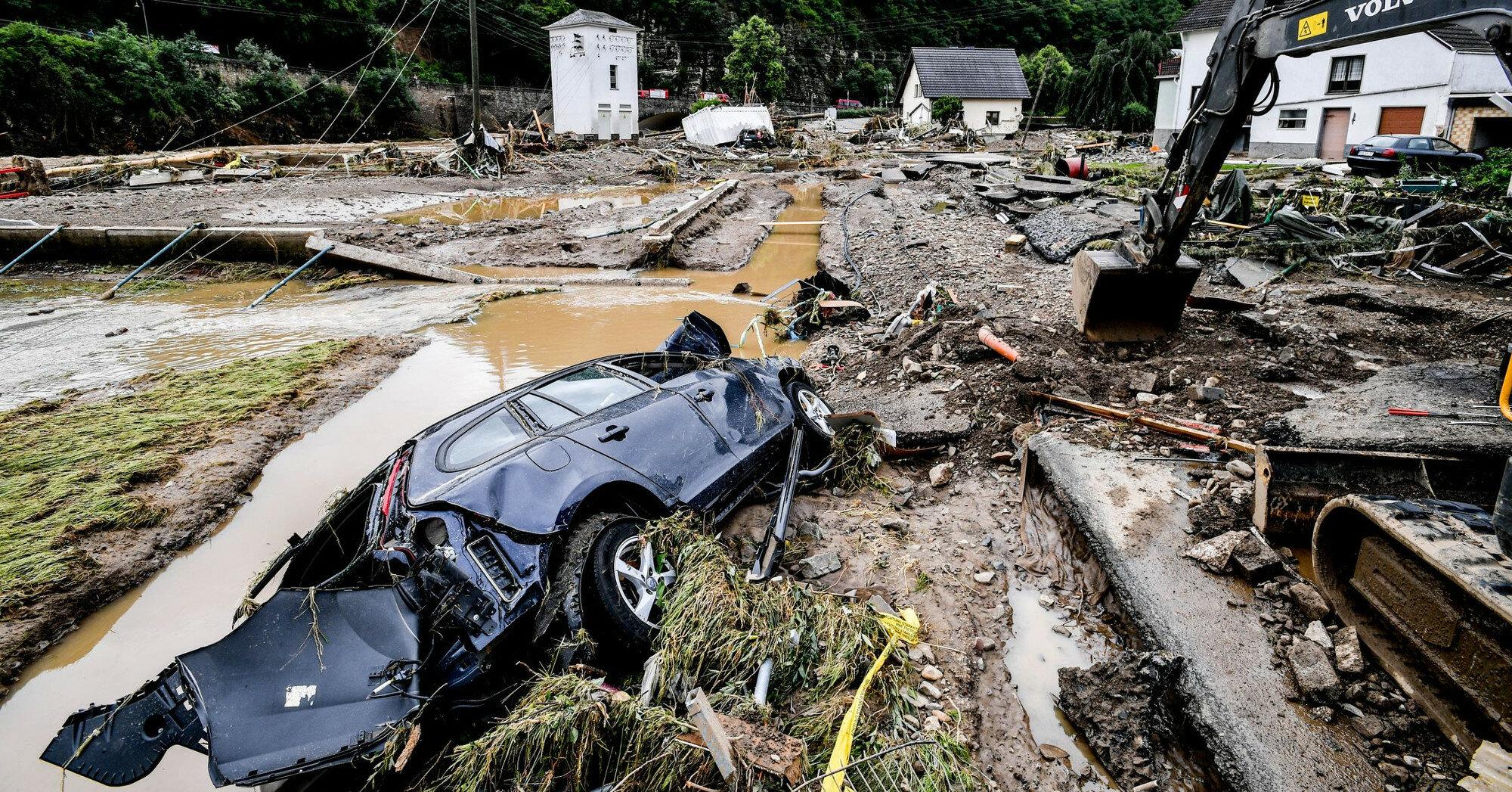 В Германии оценили убытки от наводнения