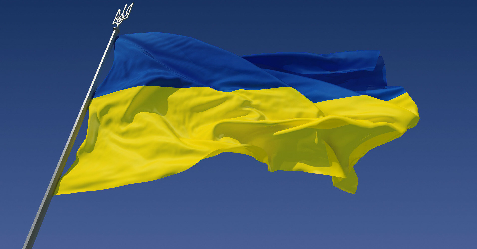 В Украине на самом большом флагштоке устанавливают новый трезубец