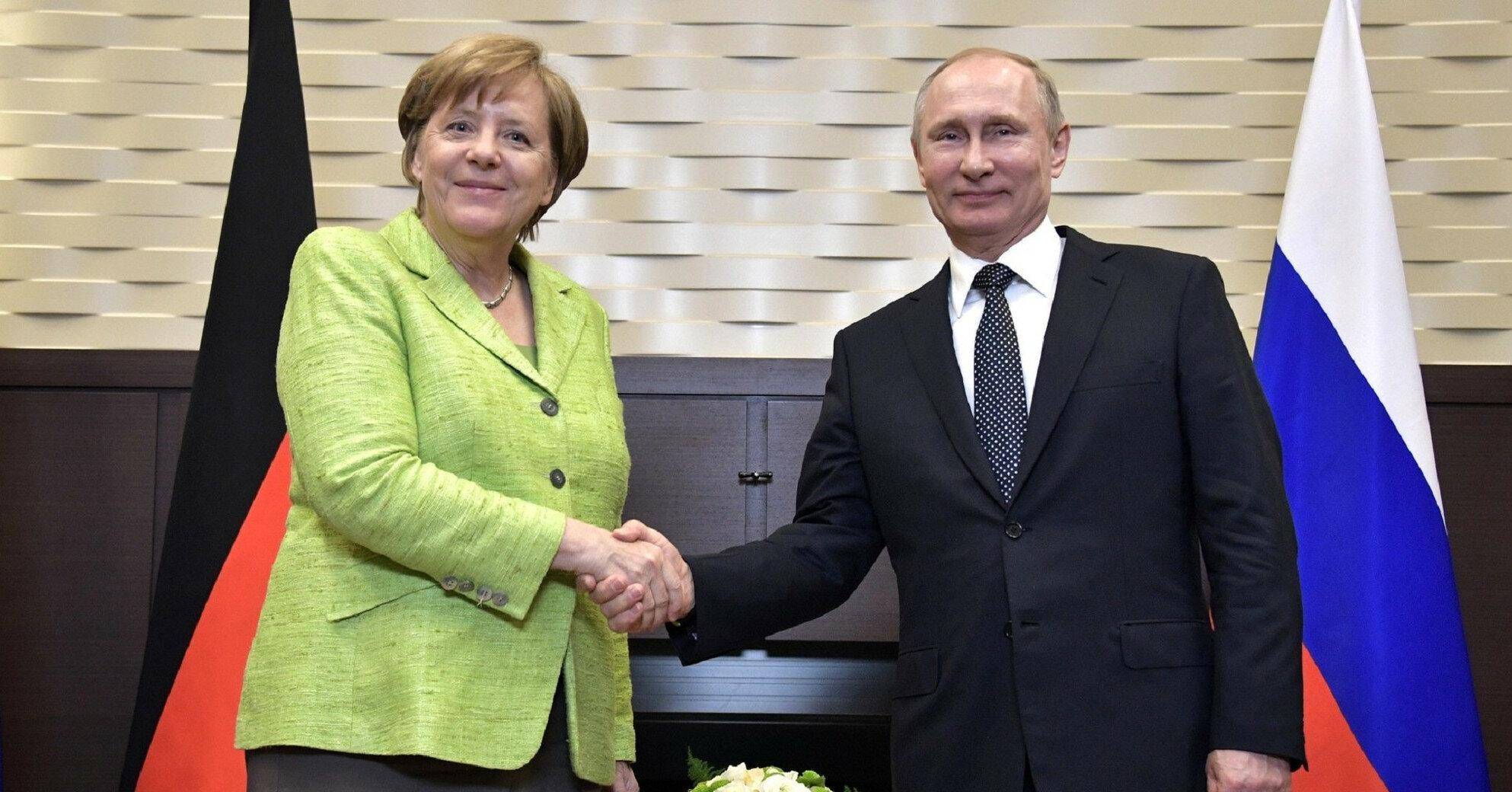 Путин и Меркель сегодня проведут переговоры в Москве