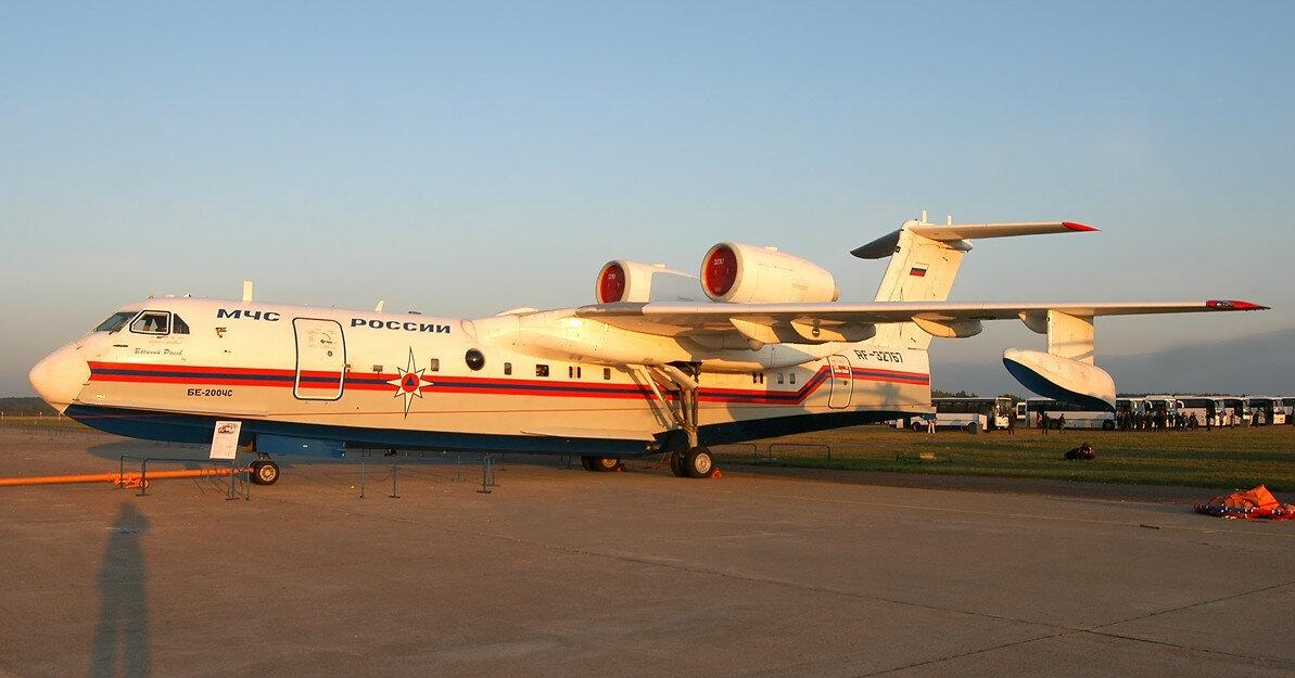 В Турции разбился арендованный у России пожарный самолет