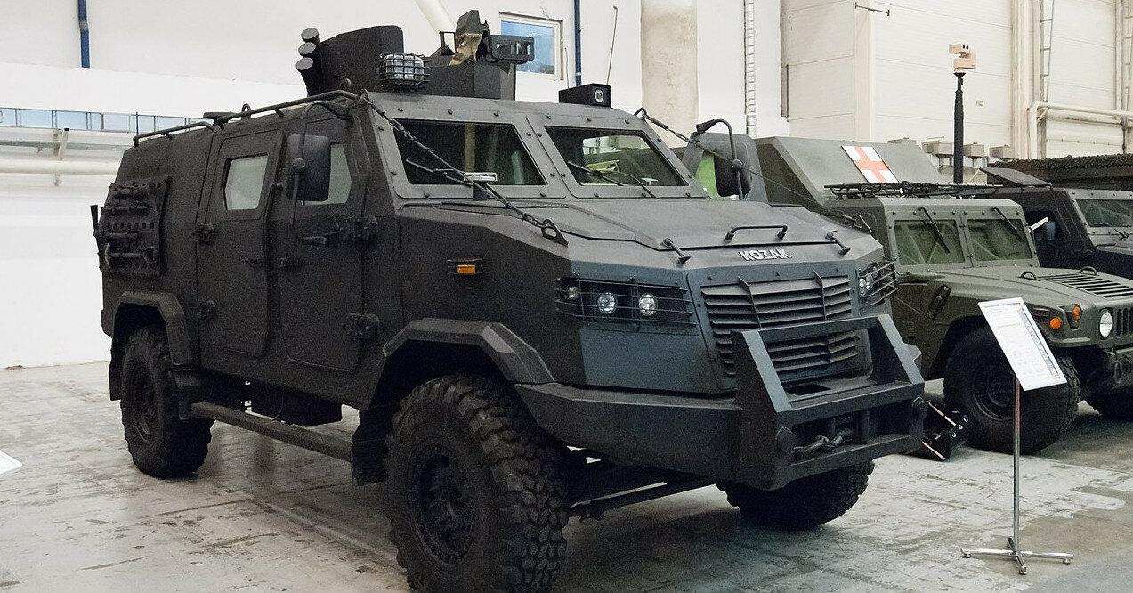 Саудовская Аравия получила партию украинских бронеавтомобилей