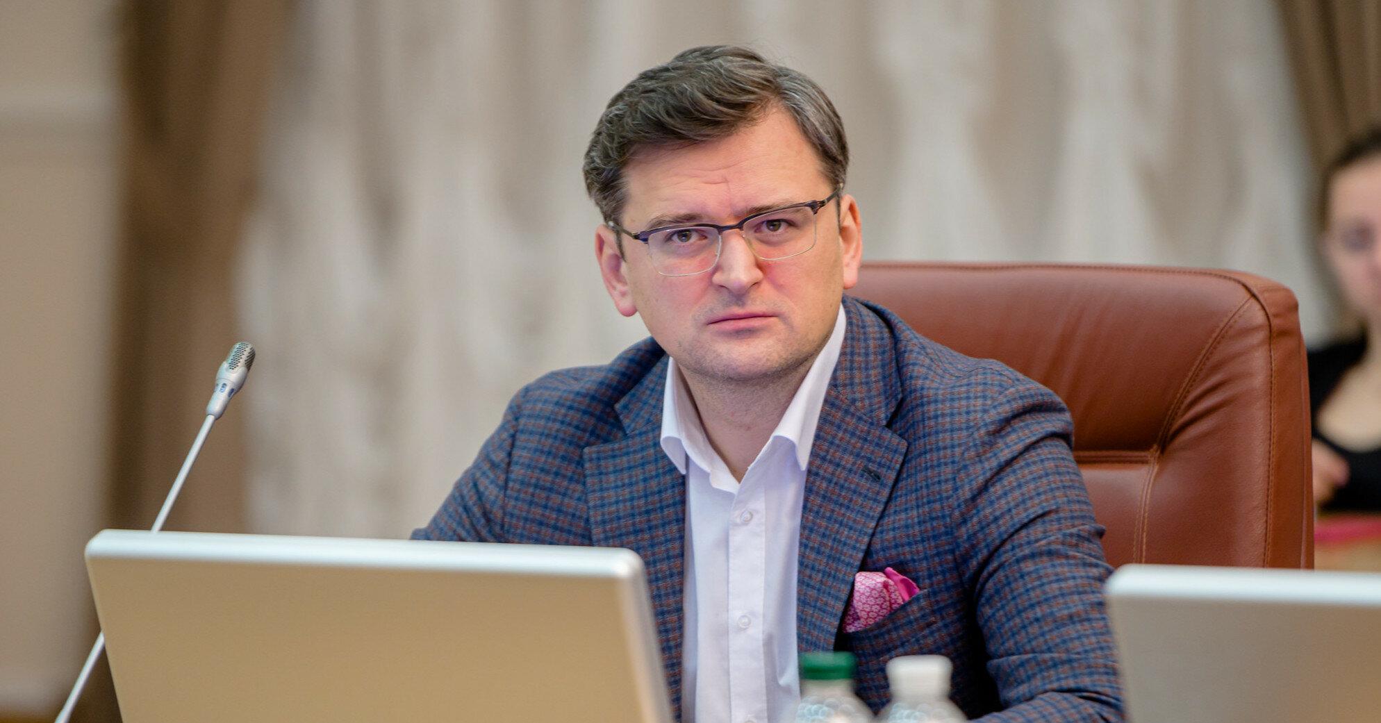 """Кулеба назвал санкции РФ """"местью"""" за Крымскую платформу"""