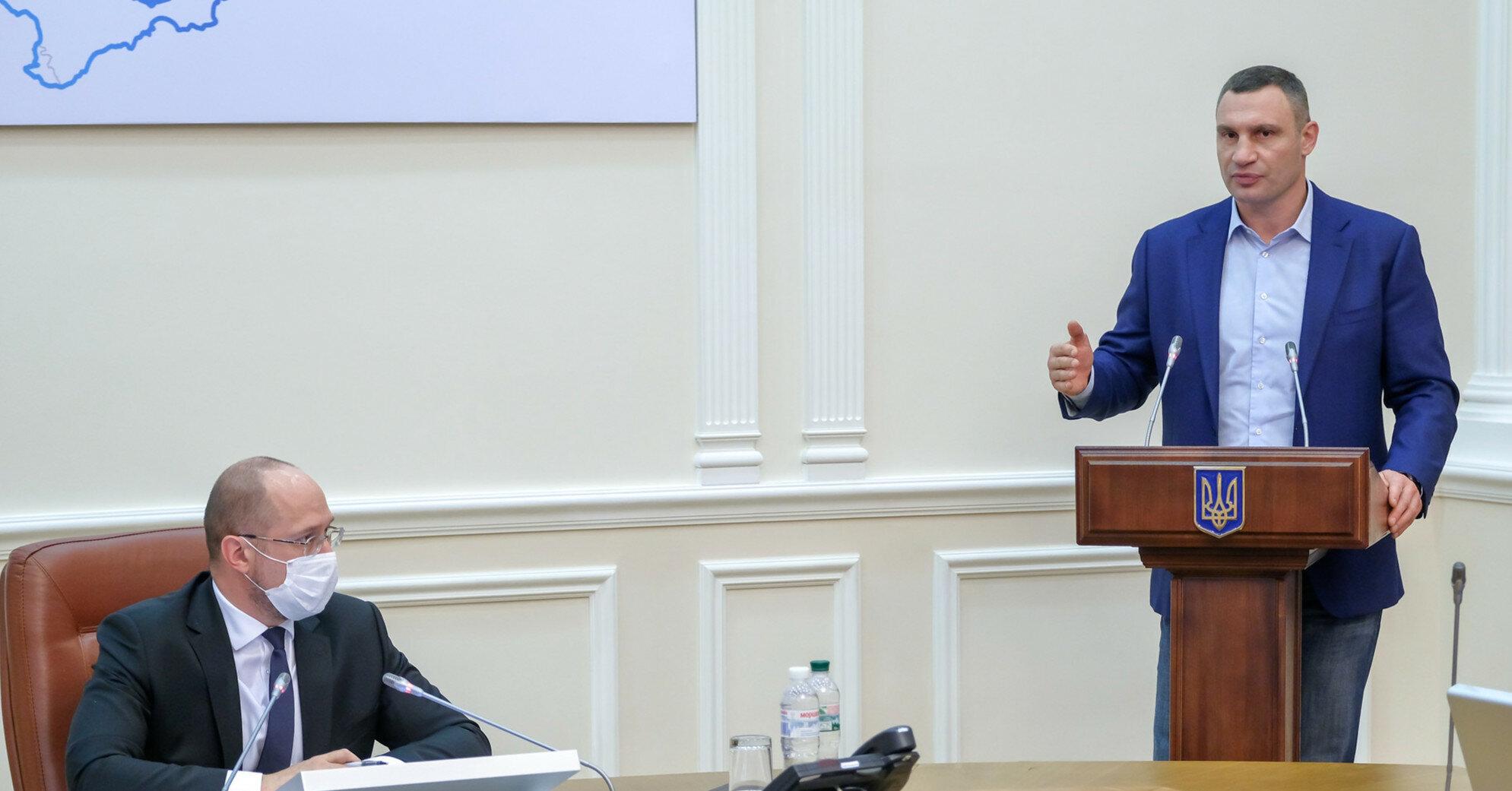 Киев готовится к разным сценариям осенней пандемии - Кличко