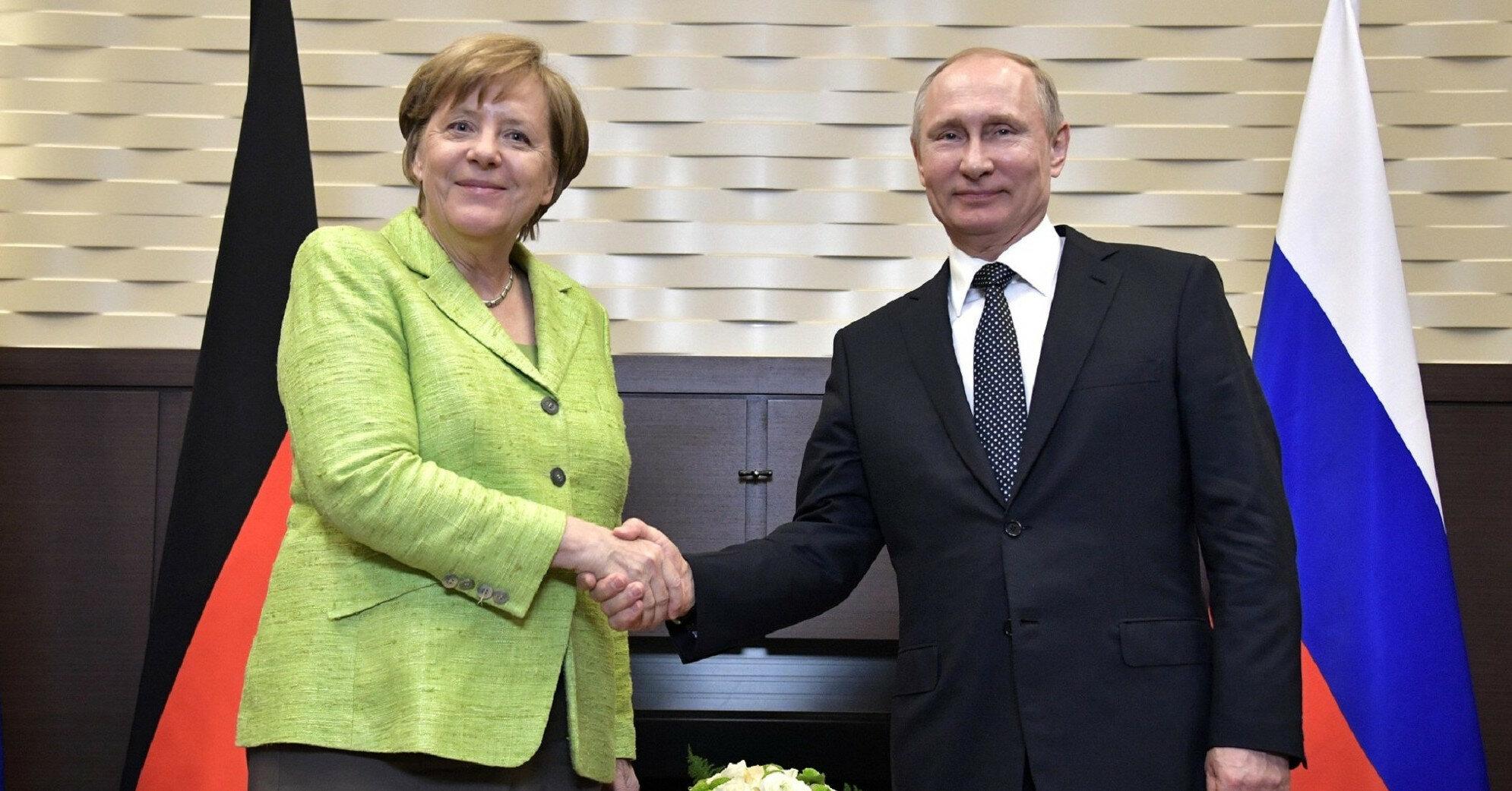 Встреча Меркель и Путина: какие вопросы обсудят