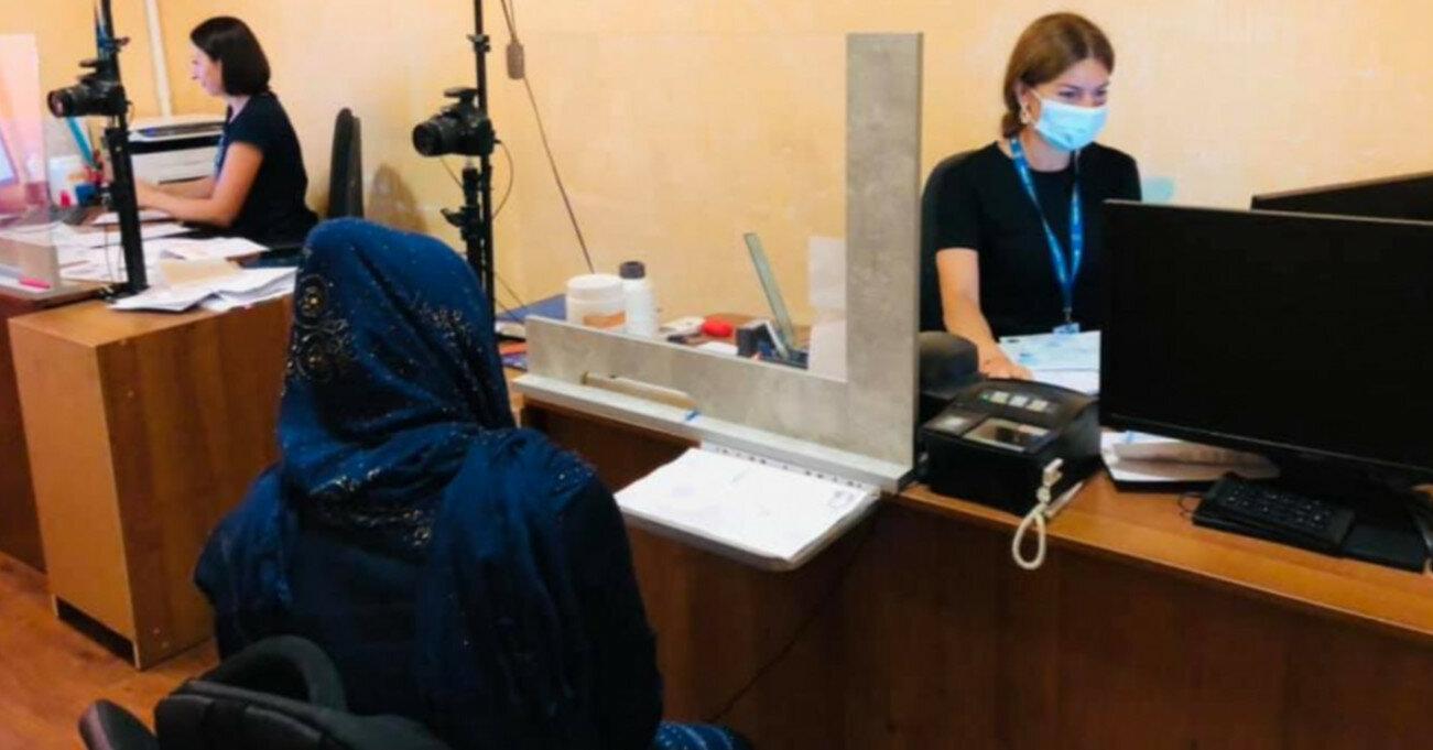 Афганских беженцев в Одессе приютила местная община